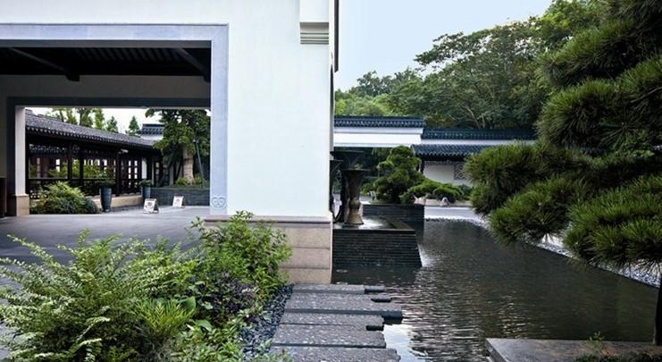 2. 意—新中式景观对古典园林意境的追求